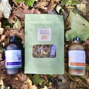 Immunity Essentials Kit - Fire Cider, Elderberry Syrup, Heal Tea