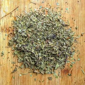 Revive - loose leaf herbal made of yerba mate, tulsi (holy basil), ginkgo, and rosemary tea