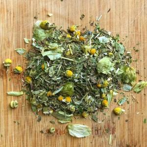 Snooze herbal tea for sleep