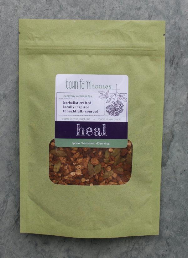 heal tea organic loose leaf herbal tea for natural immune system support