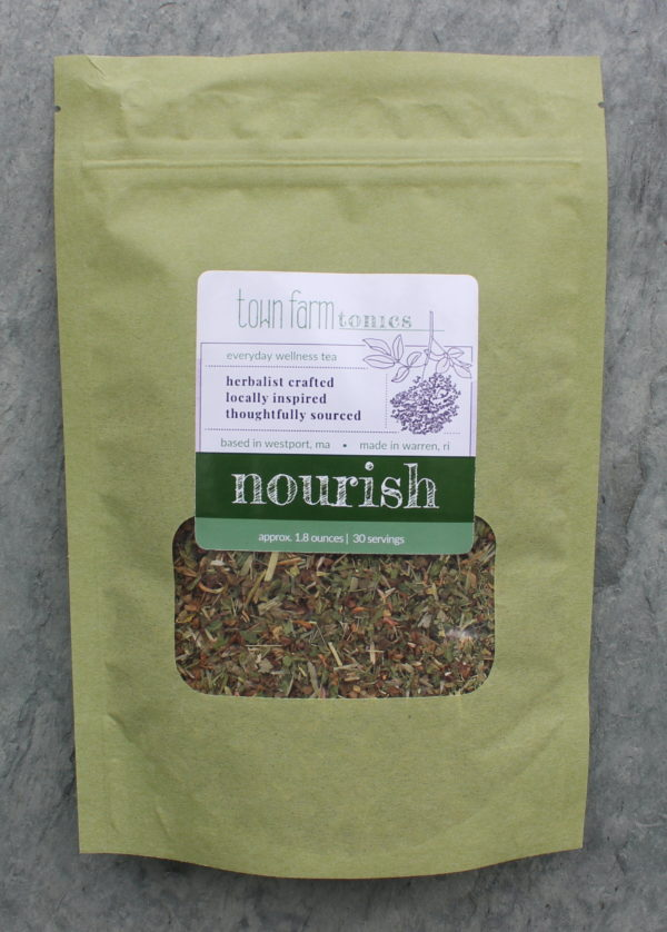 nourish tea organic loose leaf herbal tea for natural reproductive system support