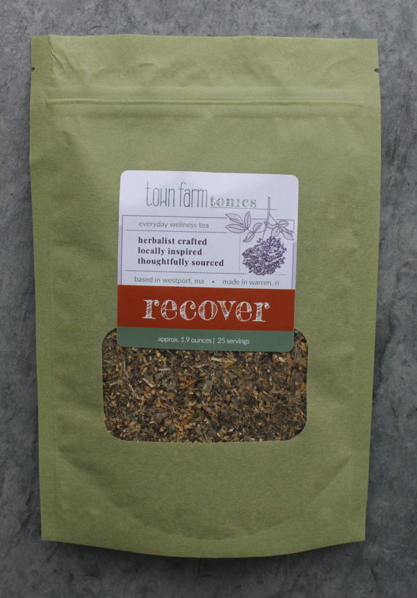 recover tea organic loose leaf herbal tea for natural respiratory system support