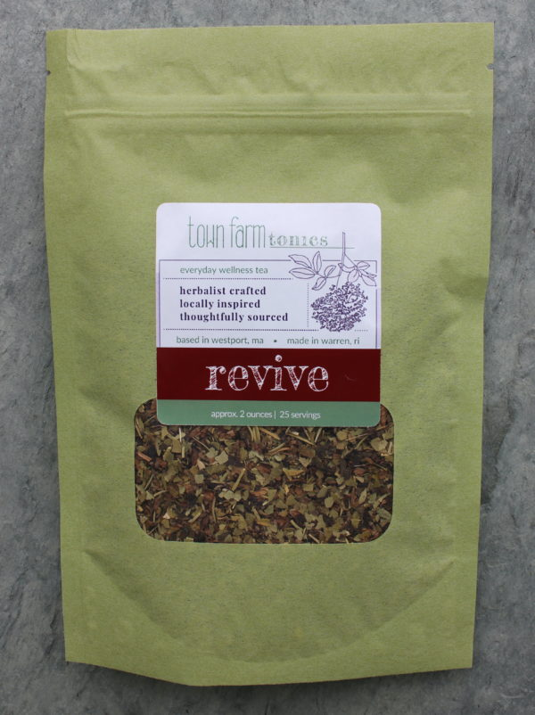 revive tea organic loose leaf herbal tea for natural nervous system and energy support