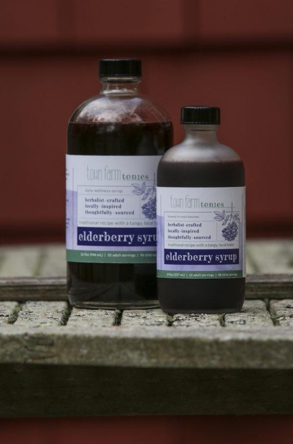 Elderberry syrup bottle sizes