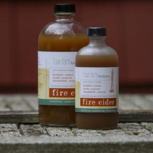 Fire Cider bottle sizes