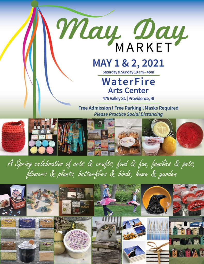 may day market in providence ri at waterfire arts center