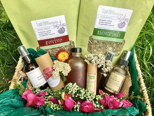 summer herbal bounty box herbalist crafted local herbal products for wellness