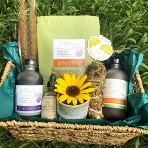 autumn bounty box herbal csa seasonal herbal product bundle for new england seasonal health and herbal wellness