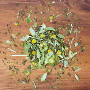 snooze tea organic loose leaf herbal tea for natural nervous system and sleep support