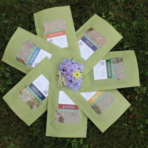 town farm tonics organic loose leaf herbal tea blends made locally in westport, ma on the southcoast
